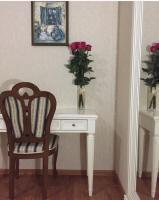Гостиная Signoria в цветах крем и белый, бежевая роза.